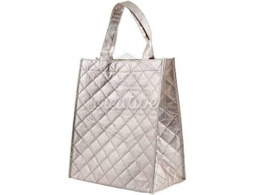 QUILTED TNT SILVER